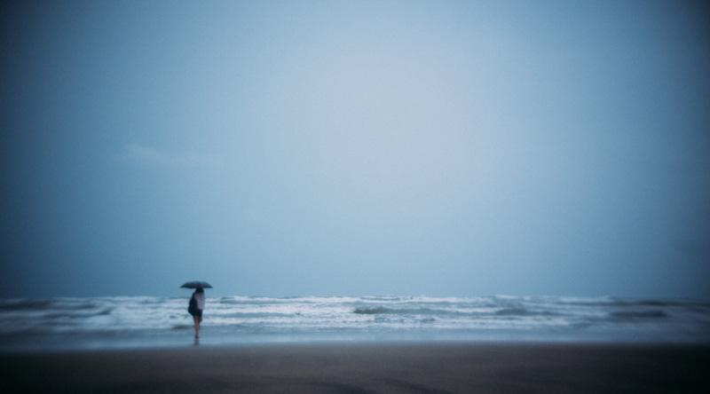 woman at shore_chris lange